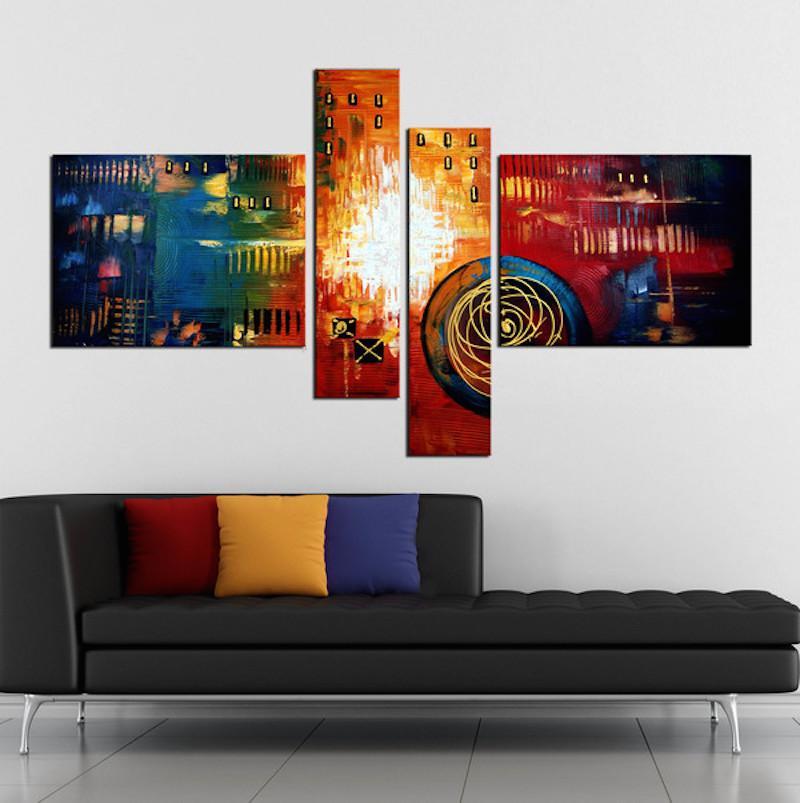Siste Smukke malerier som gør hjemmet unikt - DG-72